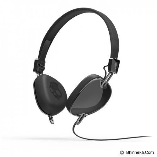 SKULLCANDY Navigator On-Ear w/Mic 3 [S6AVDM-161] - Black/Black - Headphone Portable